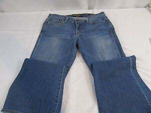 WOMENS-JEANS-LUCKY-BRAND-Dungarees-SWEET-N-FLARE-6-28-Stretch