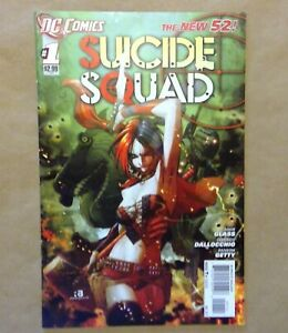 Suicide-Squad-1-New-52-2011-Harley-Quinn-1st-Print-DC-Comics-DC-Movie