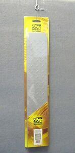 Middle-Atlantic-2U-2-Space-Steel-Blank-Rack-Panel-w-Diamond-Pattern-Silver