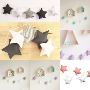 Details about Cute Star Mobile Baby Nursery Decor Wall Hanging Hanging  Nordic Canopy Style