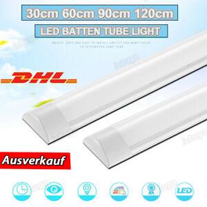 10W-40W LED Wannenleuchte Feuchtraumlampe Keller Deckenleuchte Werkstatt Röhre