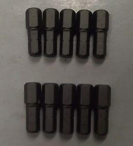 Bosch-2610023886-1-4-034-Drive-x-5-16-034-Hex-Socket-Head-Insert-Bit-10pcs
