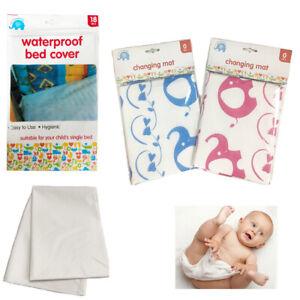 Bebe-Panal-Cambio-de-Estera-Cubierta-Impermeable-Ropa-de-Cama-Cuna-Cojin-de-panal-del-nino-infantil