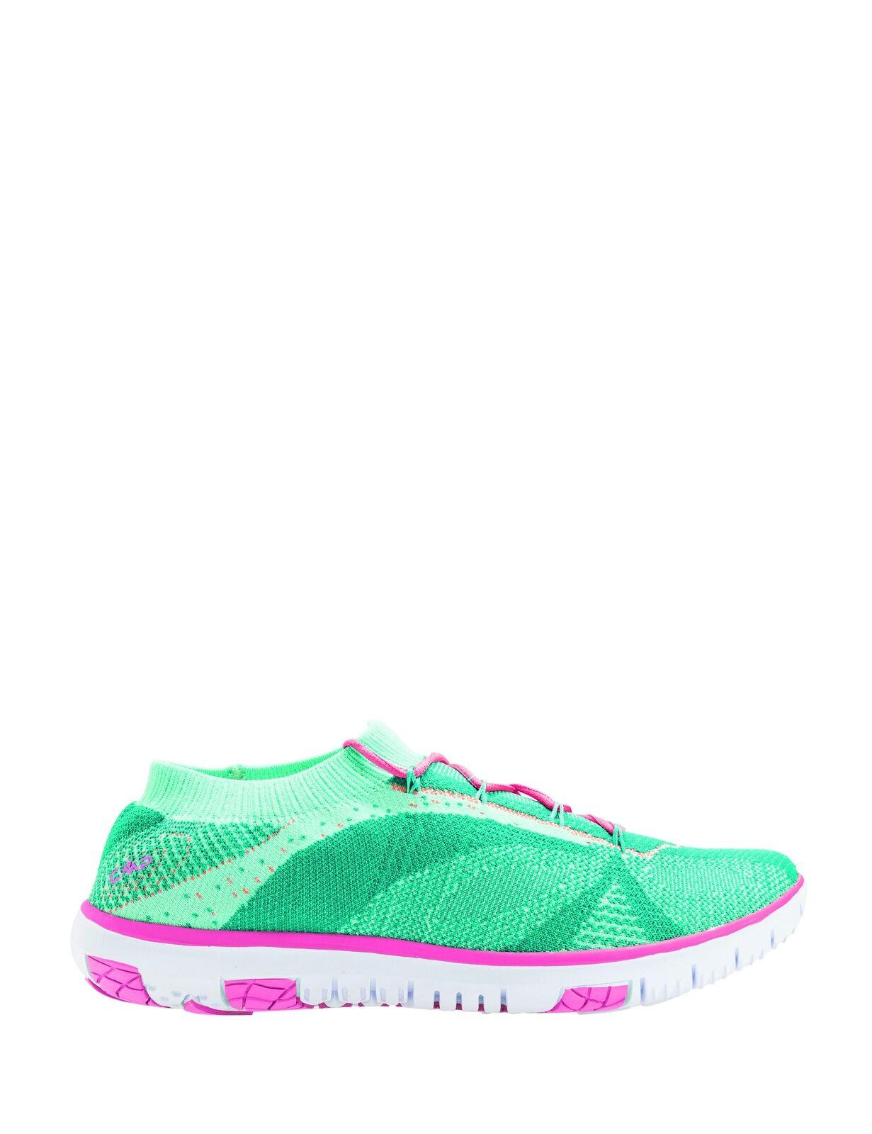CMP Turnschuh Freizeitschuh Sneaker green nahtlos Schnürung dehnbar