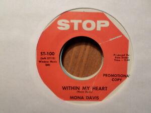 Promo-Stop-45-Registrazione-Mona-Davis-entro-My-Heart-Speciale