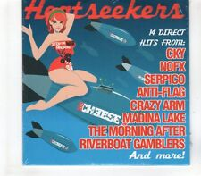 (GR512) Heat Seekers, 14 tracks various artists - sealed Big Cheese Magazine CD