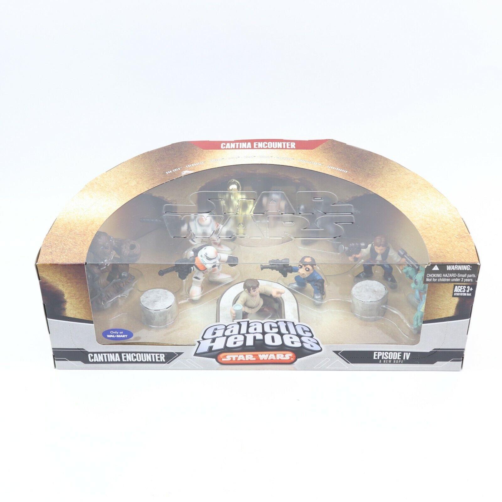 Star Wars Galactic Heroes Deluxe Cinema Scene Mini Figure Cantina Encounter