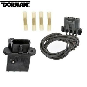 AC Blower Motor Resistor Kit with Harness Fit For For 2005-2017 Toyota Tacoma Dorman 8713804050 973-582