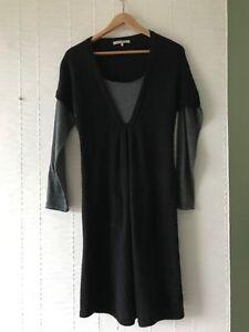 Size Jumper Darel Designer Dress misto Gerard 2 M lana Grigio alpaca Medium qSwxFUUYH