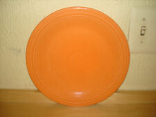 FIESTAWARE DINNER PLATE ORANGE HOMER LAUGHLIN NO CHIPS OR CRACKS NICE!!