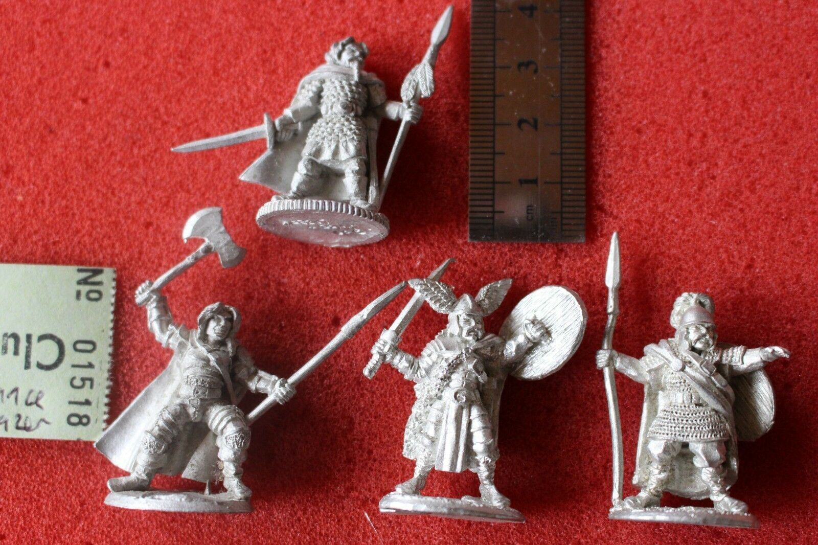 Lance and Laser Heroquest Metal Figures New Miniatures 4 Figures Metal Fantasy