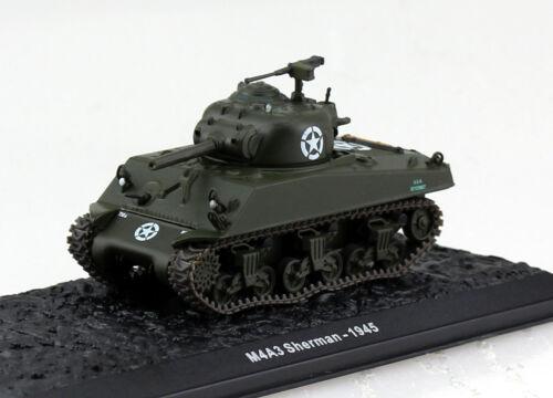 Panzer M4A3 Sherman USA 1945 Fertigmodell 1:72 Altaya Modell