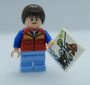LEGO Stranger Things Will Byers Minifigure *BRAND NEW* from Set 75810