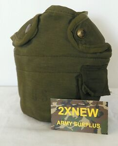 U.S. Military 1 QT Canteen Cover Pouch w/ Alice Clips 8465-00-860-02