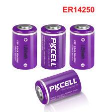4x Er14250 12aa Lithium Battery 36v Ls14250 1200mah Batteries Exp 2030