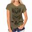 Moda-Mujeres-Mangas-Cortas-Camiseta-Camisas-Prendas-para-el-torso-Blusa-Informal-Camiseta-para-mujer miniatura 1