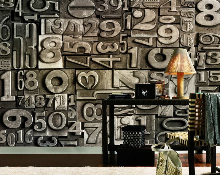 3D Art Text Relief693 Fototapeten Wandbild Fototapete Bild Tapete Familie Kinder