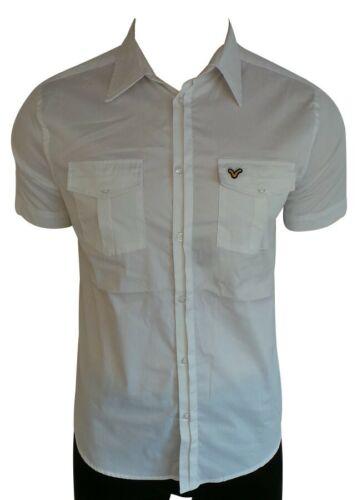 Voi Jeans White Short Sleeve Casual Shirts// Size Medium// BNWT