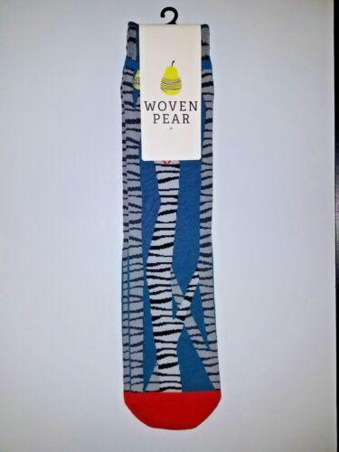 Nuove Set tre Fun etichette di tessute a con Fall calze pera ppgqWF7