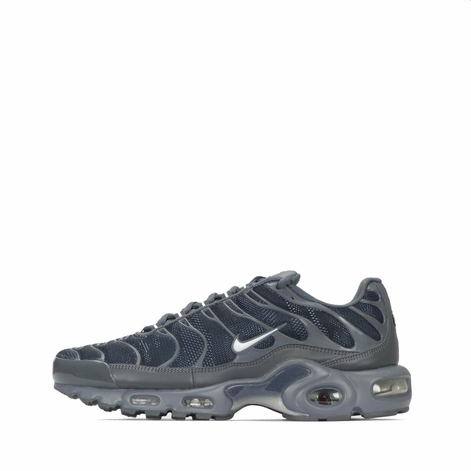 Nike Air Max Plus GPX TN Tuned Hommes Chaussures in Dark Gris / blanc  RRP 139.99