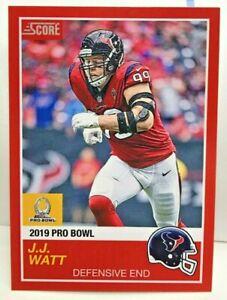 separation shoes 6cd16 5ea8b Details about J.J. Watt 2018 Panini Instant #12 - NFL 2019 Pro Bowl '89  Score SP /270 - TEXANS
