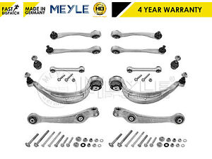 Audi-A4-A5-Q5-front-lower-upper-suspension-arriere-control-arms-liens-set-meyle-hd
