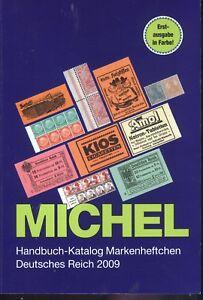 Michel Handbuch-Katalog Markenheftchen Deutsches Reich