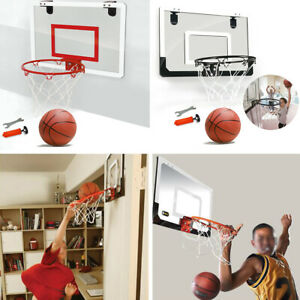 Kids-Mini-Basketball-Hoop-System-Goal-Over-The-Door-Sports-With-Bal-l-Inflator