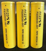Brand 3 A123 3.2v 18650 1100mah Lifepo4 Lithium Rechargeable Battery 30a