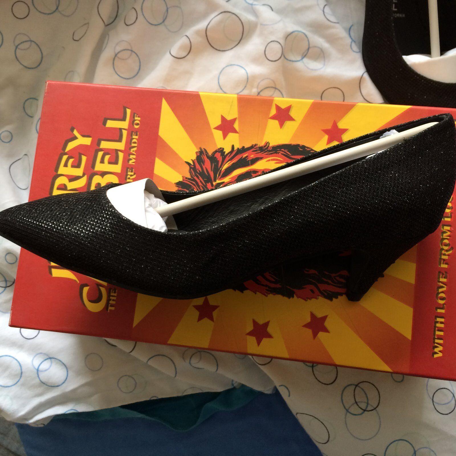 JEFFREY CAMPBELL BLACK BREA FAB Schuhe - BLACK CAMPBELL - SIZE 6 – BNIB 862027