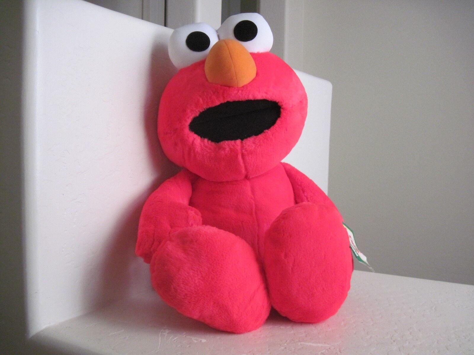 GIANT Tyco Sesame Street ELMO Plush 27  Stuffed Animal