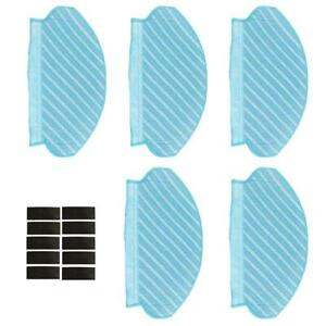 For-Ecovacs-Deebot-OZMO-920-950-Cleaning-Mop-Cloth-Sticker-Set-Vacuum-Parts-UK