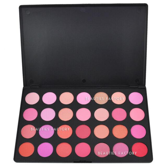 28 Color Face Cheek Blush Makeup Palette (22 Matte + 6 Shimmer Pots) 628A