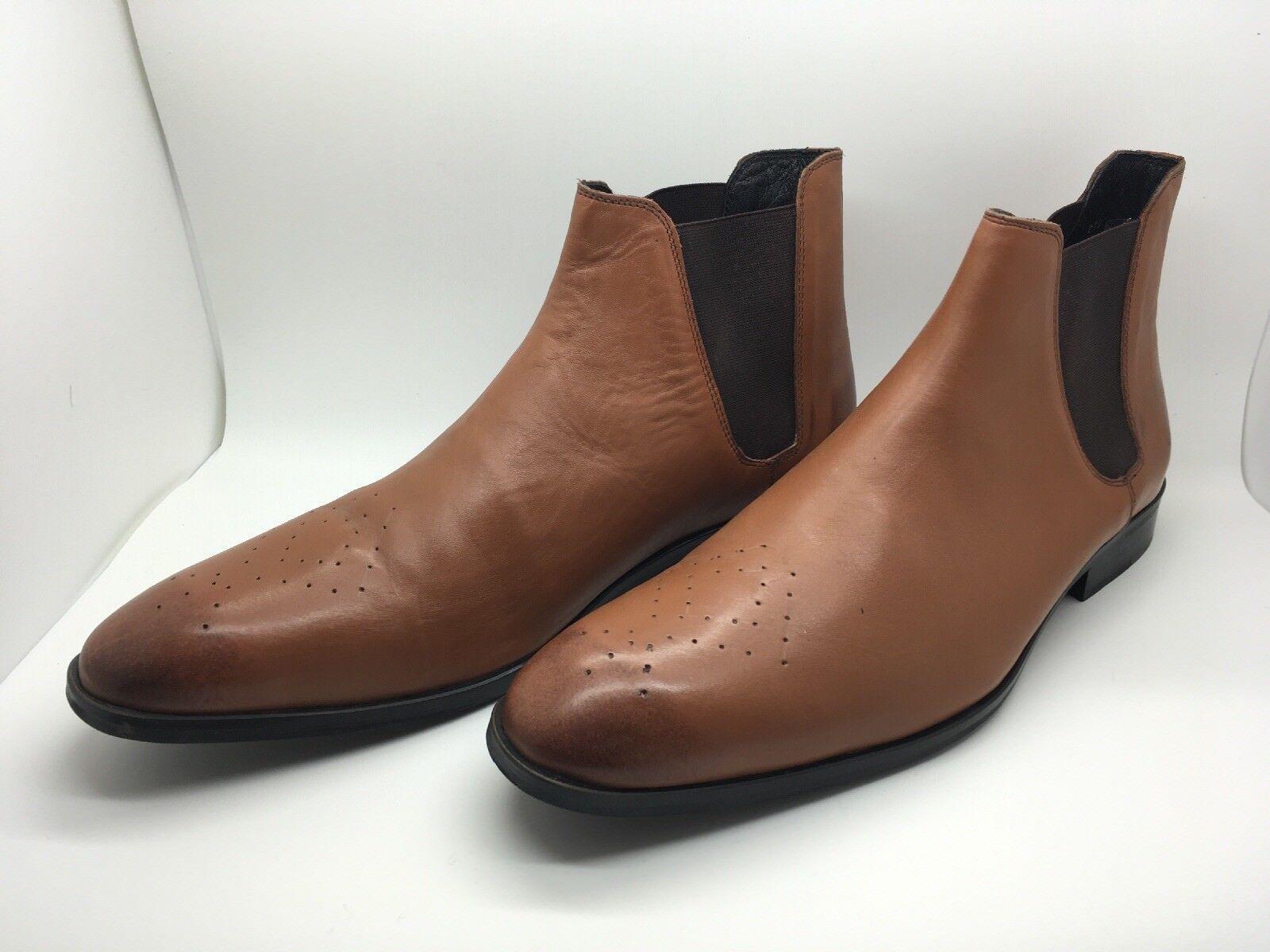 Hohe Schuhe neu Herren VERTIGO Leder braun neu Schuhe Größe 44 eur / 10 US 82e313