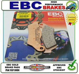02 Spoke /& Mag Wheel NEW EBC FA181HH SINTERED BRAKE PADS PAD SET FRONT CCM R30