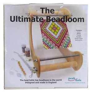 Peak Dale Ultimate Bead Loom Kit Jewelery Design Beads
