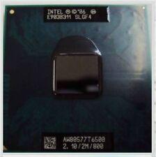 Intel Core2 Duo T6500 SLGF4 2.1Ghz 2MB 800 Socket P Mobile CPU Processor