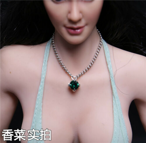 """1:6 Scale Red Necklace For 12/"""" Phicen Hot Toys Female Action Figure Doll Toys"""