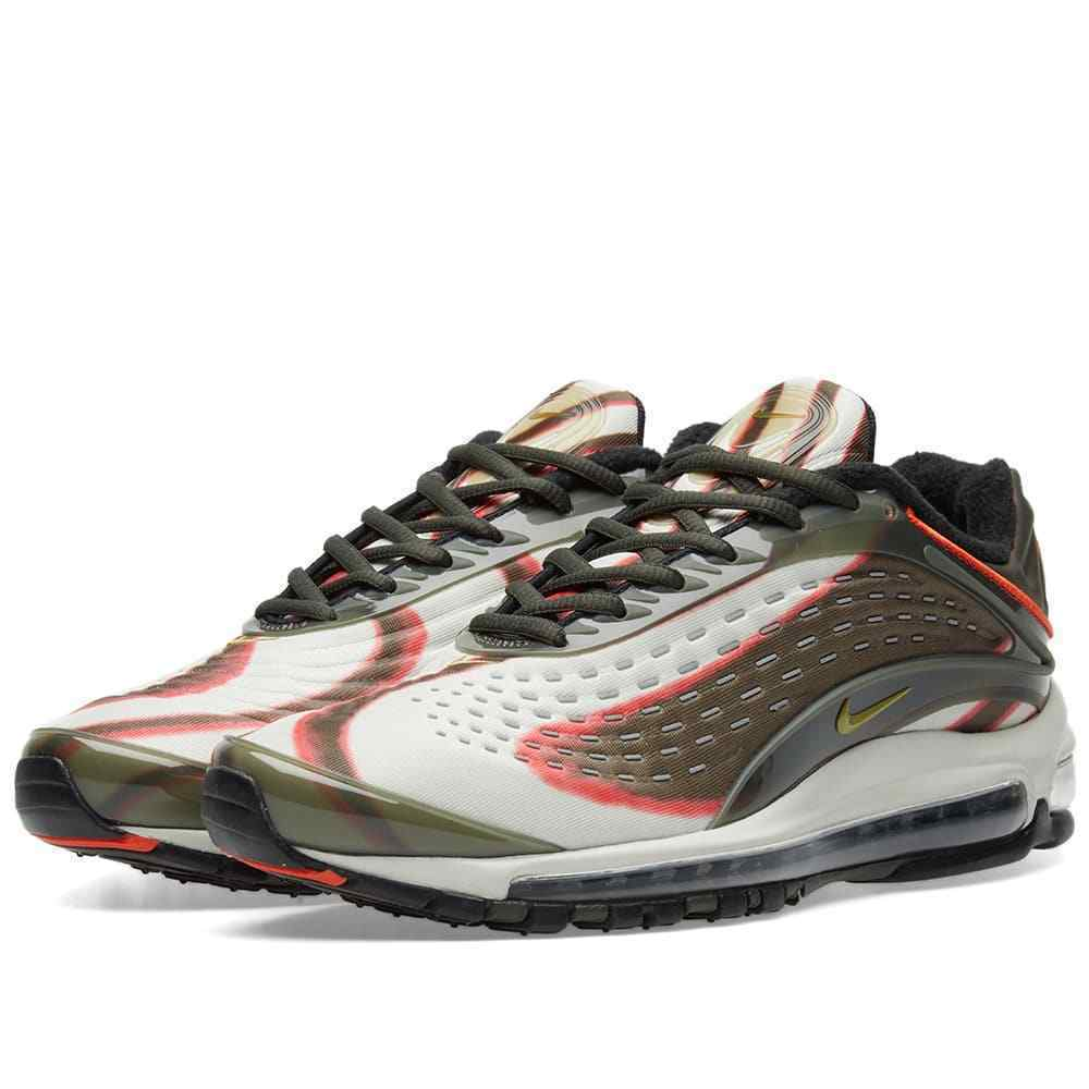 New 2018 NIKE AIR Max Deluxe Sequoia Trainers All Sizes