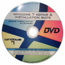 RECOVER/REPAIR FOR WINDOWS 7(Starter,Home Basic & Premium,Professional,ALL
