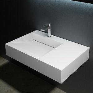 design gussmarmor waschbecken waschtisch waschplatz colossum 11 75 x 50 cm wow ebay. Black Bedroom Furniture Sets. Home Design Ideas
