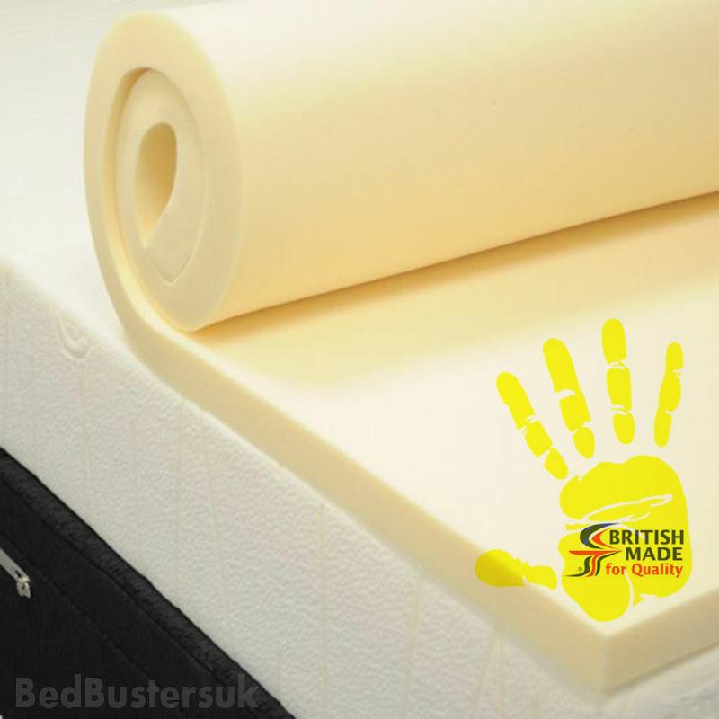 Ikea Euro Double Memory Foam Mattress Topper, 140cm x x x 200cm 2  Inch Depth b31748