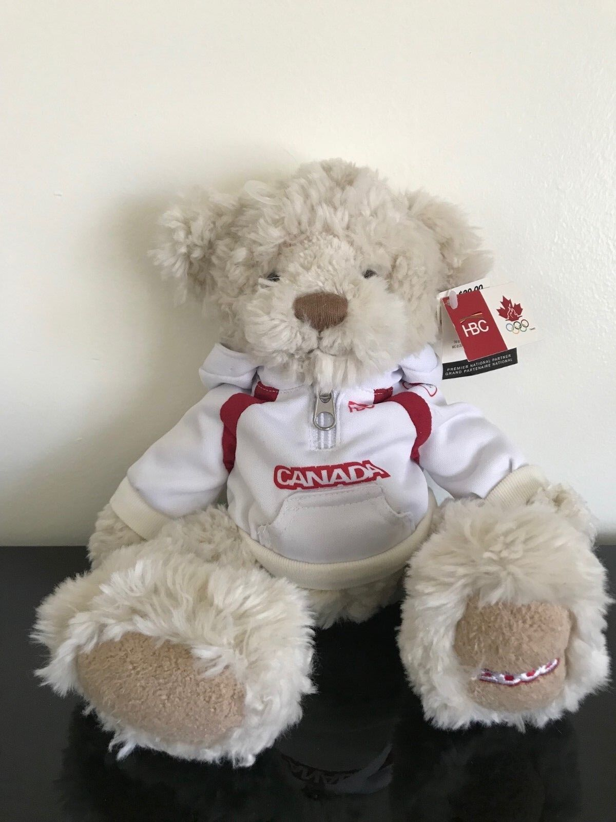 Hudsons Bay Company 2006 Canada Winter Olympic Bear 12 inch All Tags HBC
