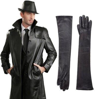 Men/'s Genuine Sheepskin long Gloves Customizable gloves size S//M//L//XL//2XL//3XL