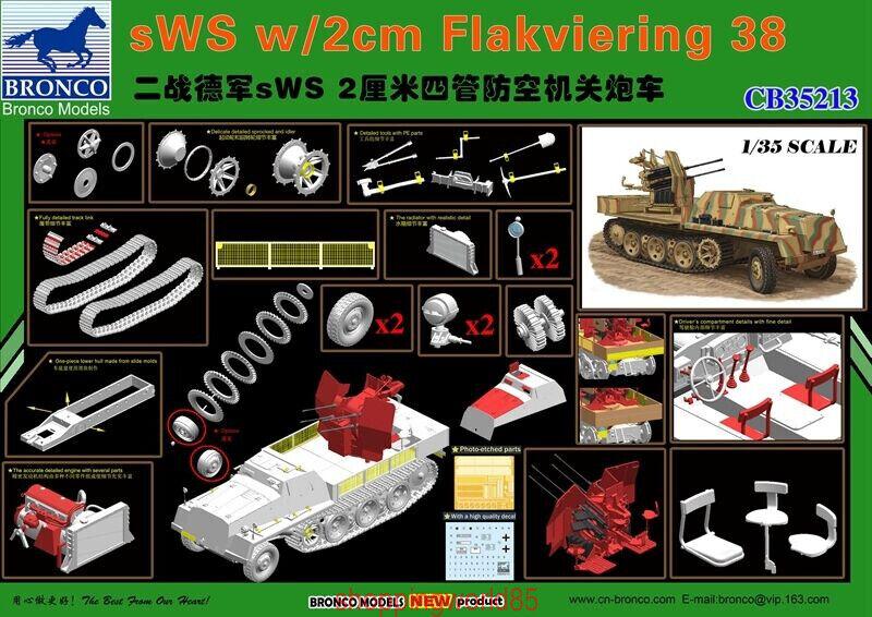 Bronco 1 35 35213 sWS w 2cm Flakviering 38