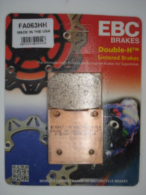 EBC HH Sintered Rear Brake Pads Suzuki GSXR750 W 1992-1995 FA63HH