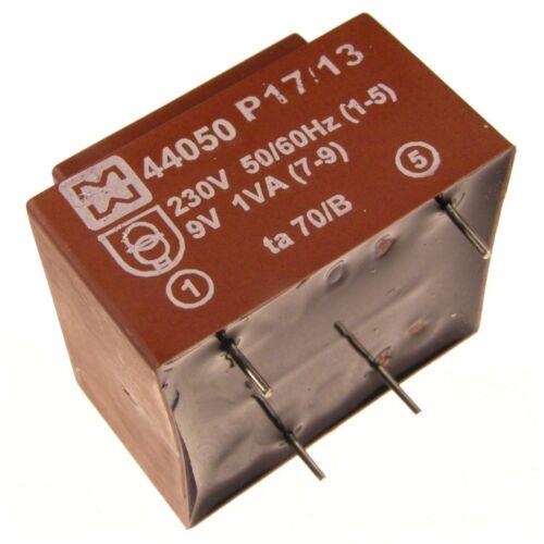 myrra MY44050 Trafo 230V Printtrafo 1VA 9V Netztrafo Transformator 107580
