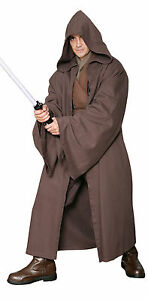 Dark-Brown-JEDI-ROBE-Only-Excellent-Quality-Costume-Cloak