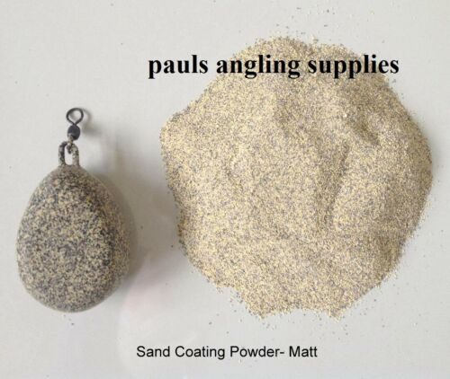 SMOOTH MATT   Camo Sand Silt  Lead Jig head Mould Coating Powder
