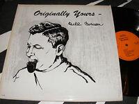 Strange PRIVATE LP Originally Yours BILL BENSON w 12 year Old Singer NANCY LYNN